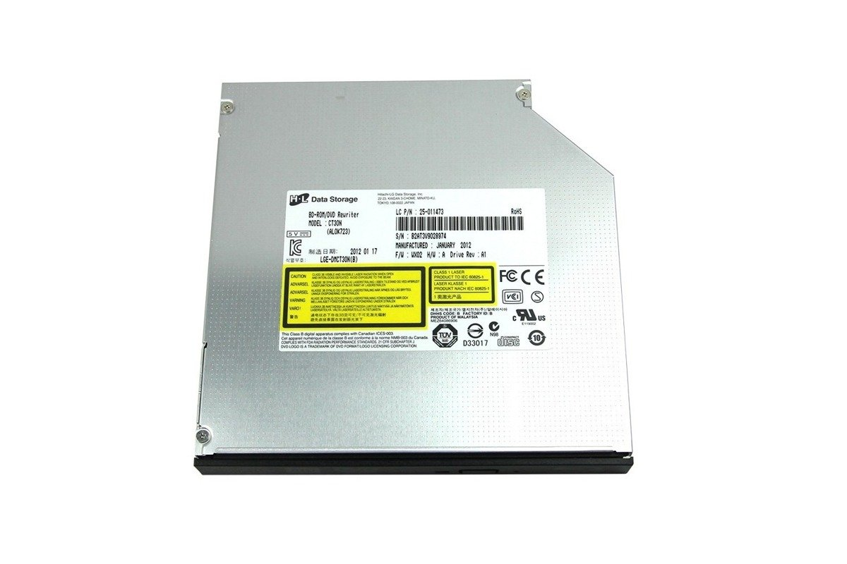 Blu-Ray Combo Driver BD-ROM / DVD-RW Rewritter CT30N