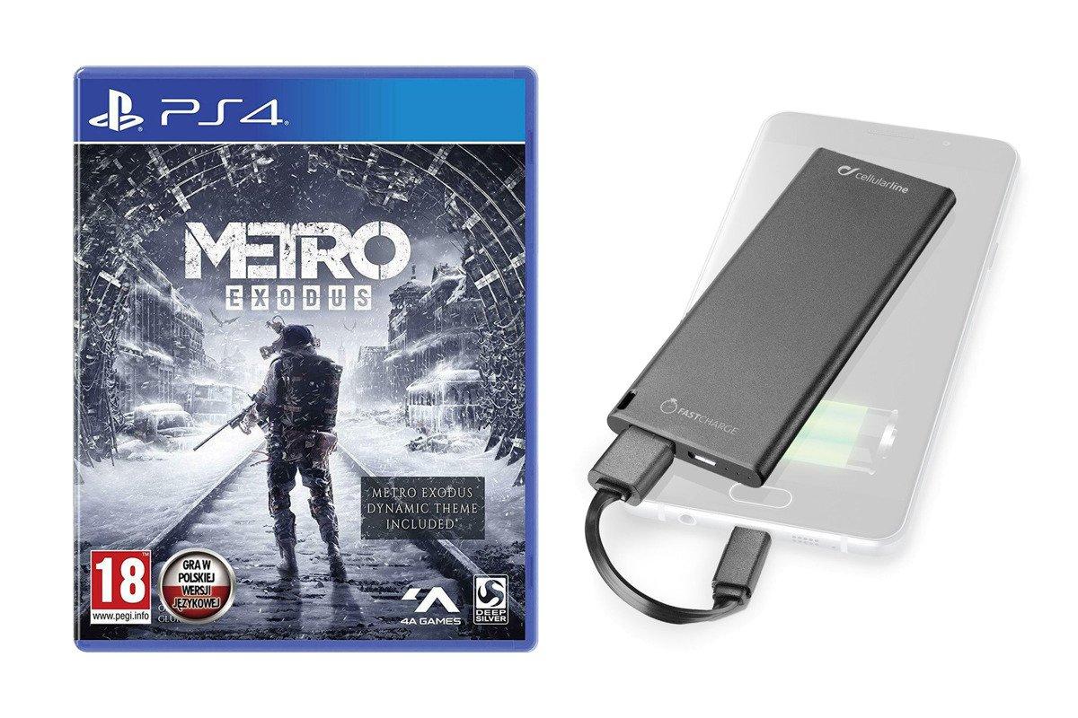 Metro Exodus Day One Edition PS4 + Powerbank 3000 mAh