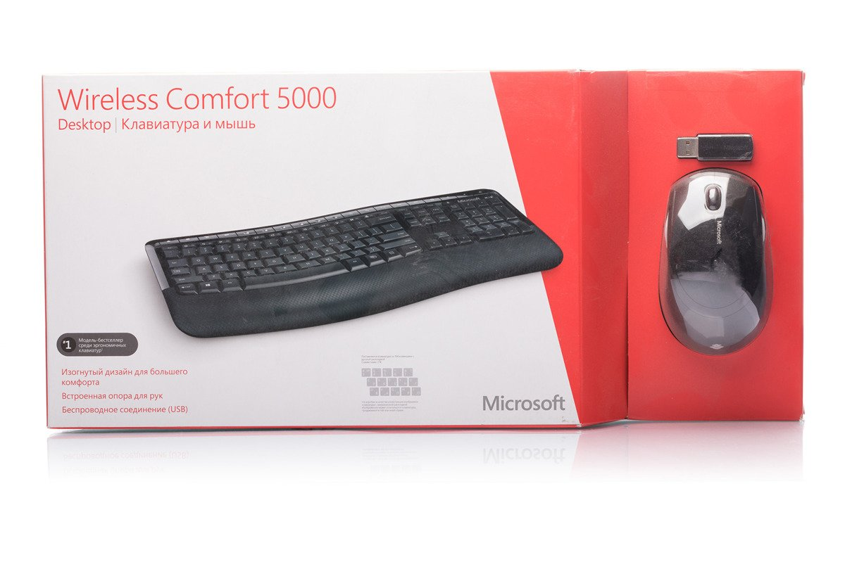 Microsoft Wireless Comfort Desktop 5000 (Russian ) CSD-00017
