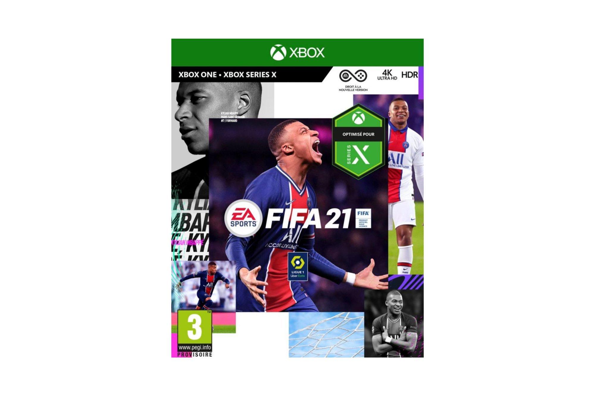 New EA FIFA 21 - Xbox One / Series X - FIFA 2021 Box
