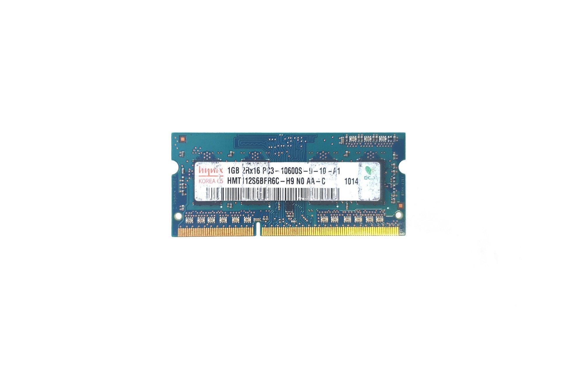 SODIMM Memory RAM Hynix 1GB DDR3 HMT112S6BFR6C-H9