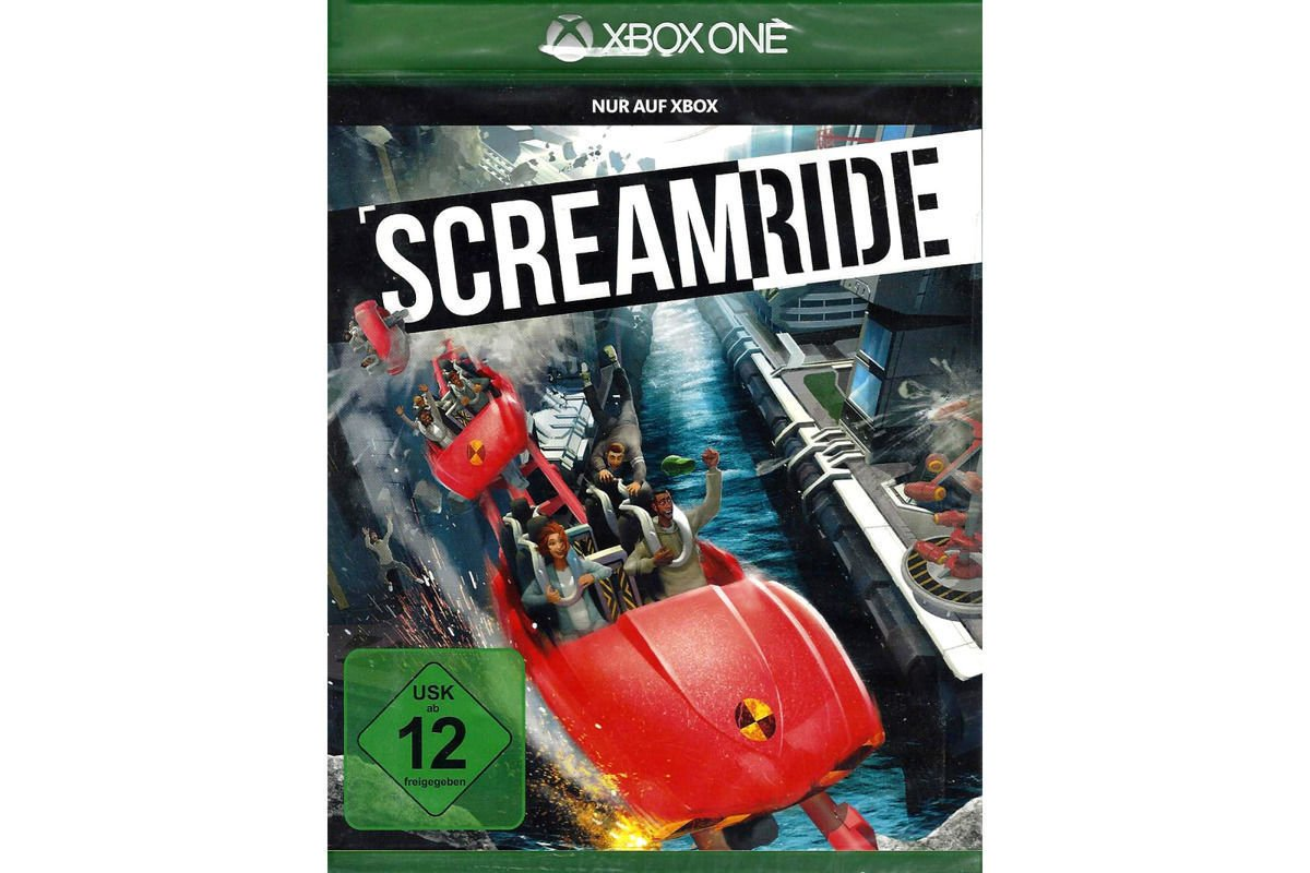 Screamride XBOX ONE GAME BRAND NEW Sealed