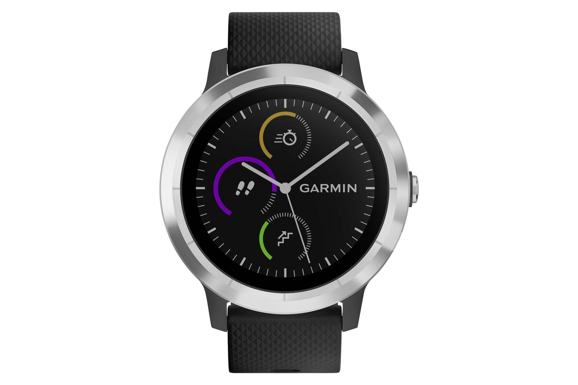 Smartwatch GPS Sport watch Garmin Vivoactive 3 Silver/Black