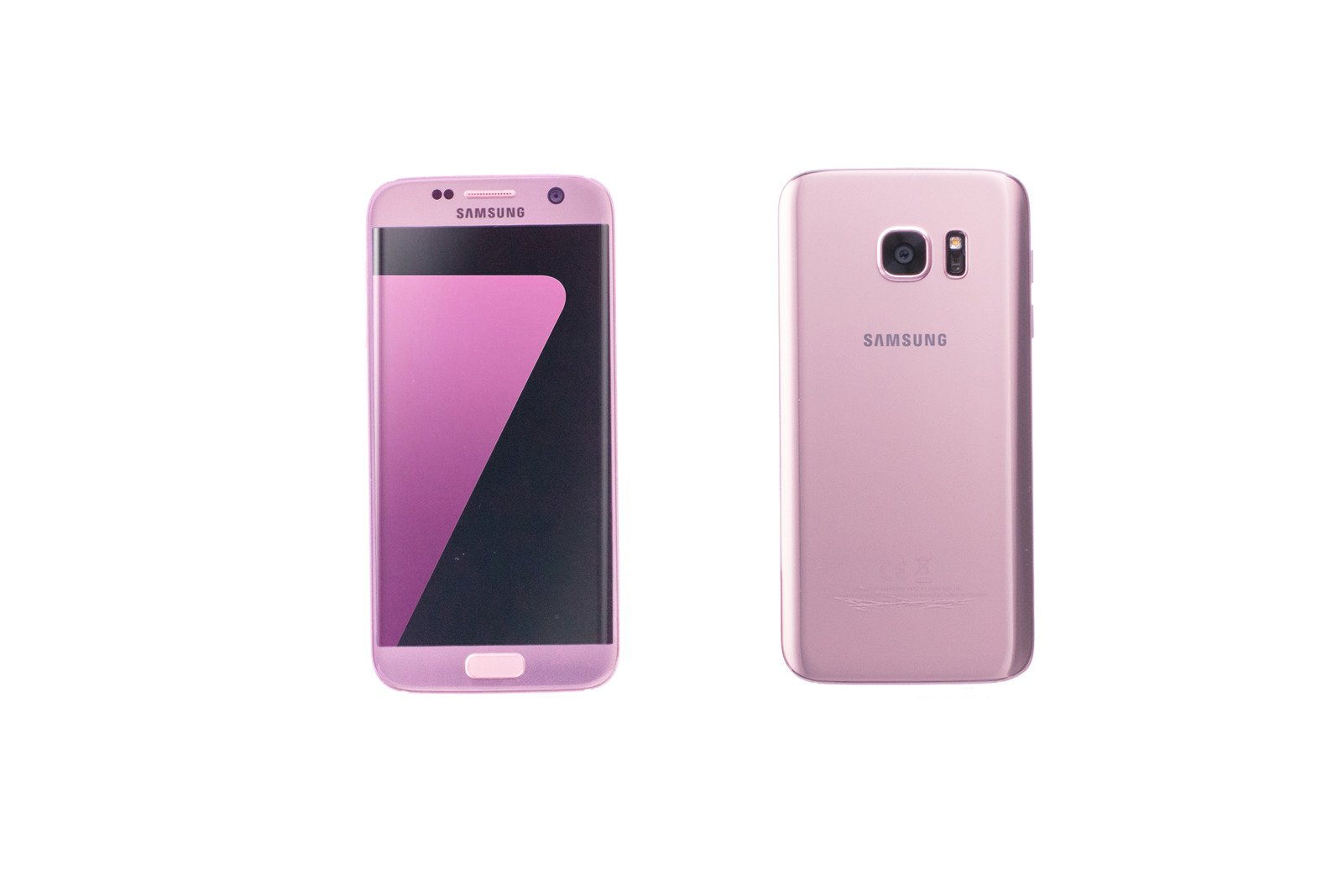 Samsung Galaxy S7 Edge Pink Gold Sm G935f Grade A Replacement Box