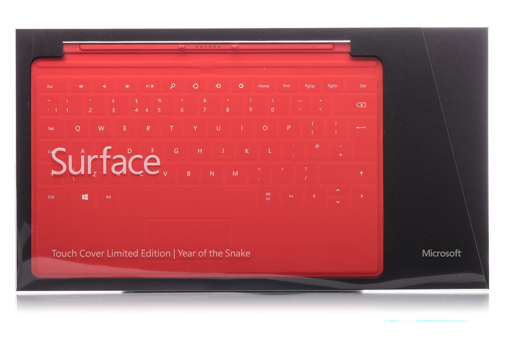 Keyboard Surface Touch Cover 1 year of the snake (British)