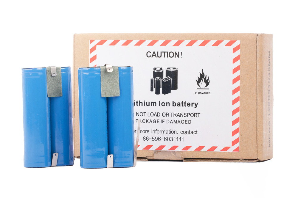 Lithium Ion Battery pack 4400 mAh 2 x 2200 mAh 3.7V akku