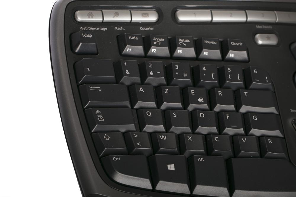 Microsoft Natural Ergonomic Keyboard 4000 (French / Français)