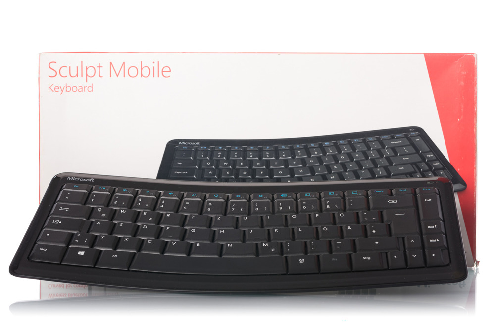 Microsoft Sculpt Mobile Keyboard (German / Deutsch)
