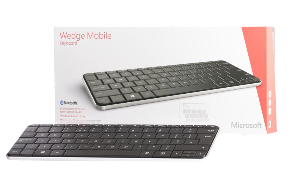 Microsoft Wedge Mobile Keyboard (UK105 / British)