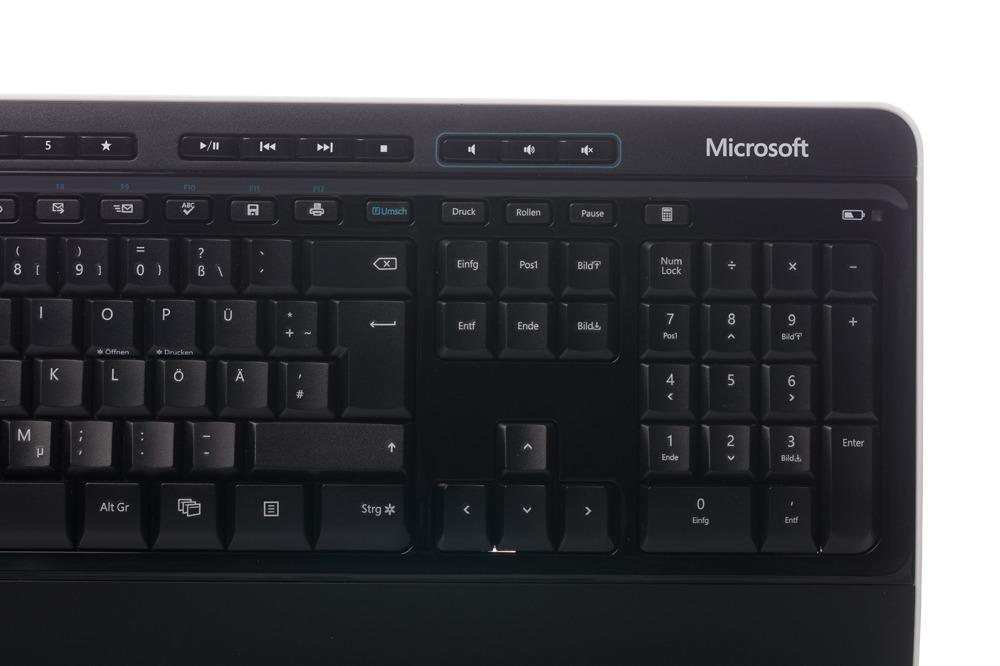 Microsoft Wireless 3000 Desktop (German)