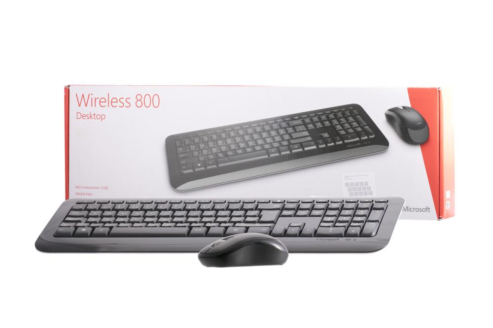 Microsoft Wireless 800 Desktop (UK105 / British)