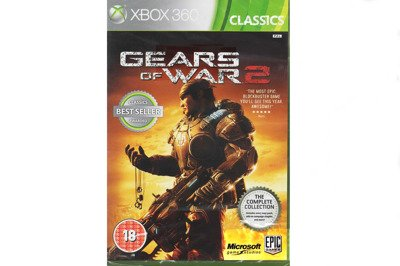 Gears Of War 2 Xbox 360 and Xbox One New Sealed