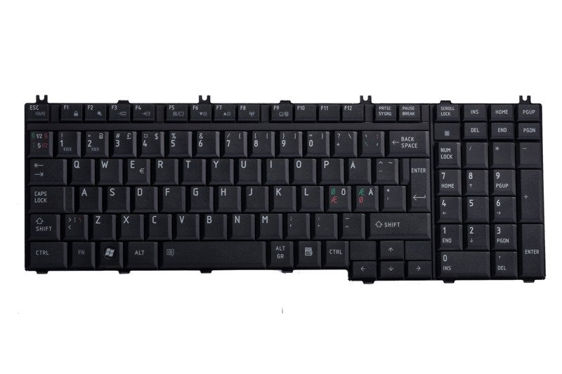 Keyboard MP-06876DN-920 (Nordic)