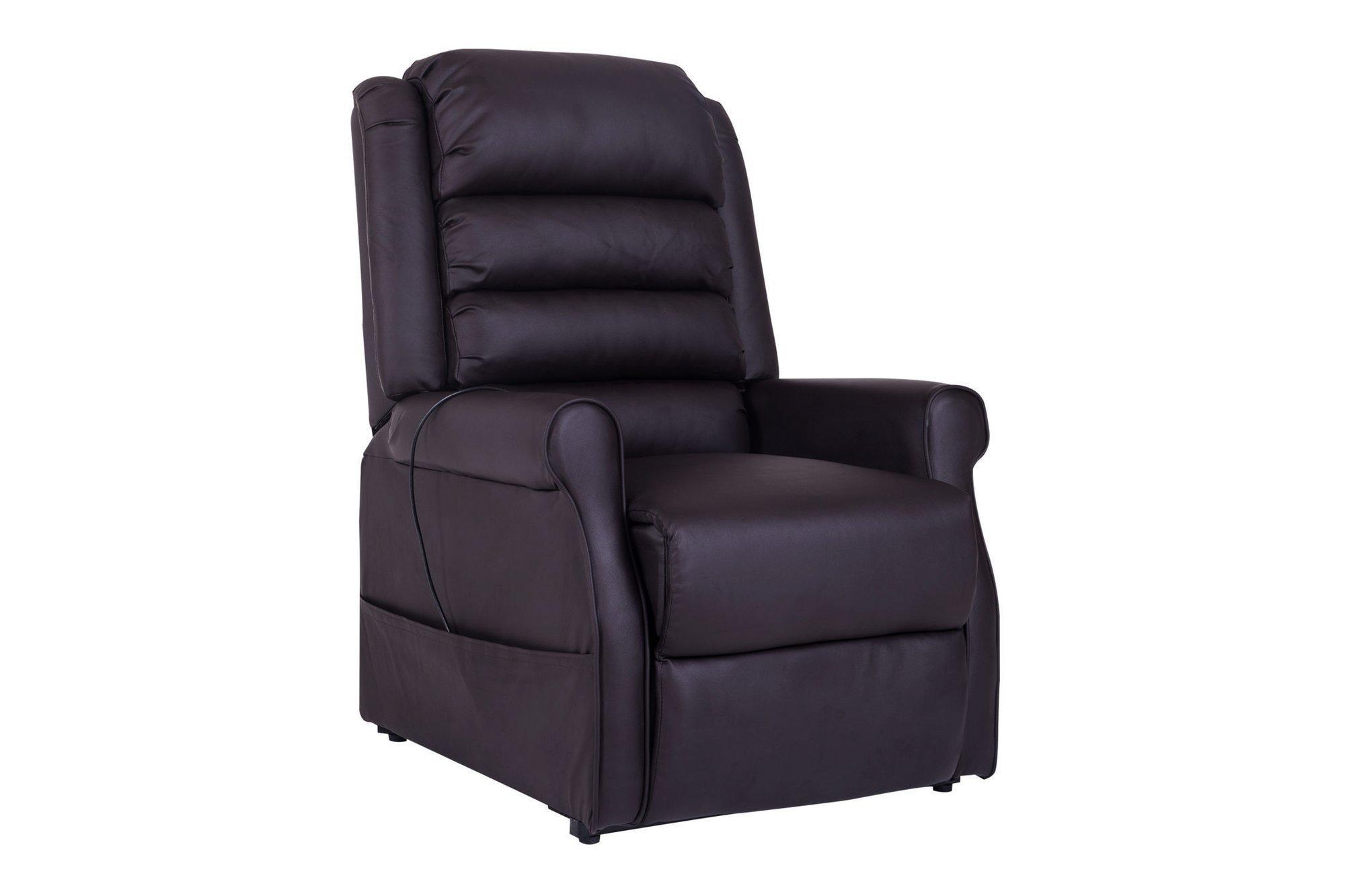 Fotel do masażu ze wspomaganiem wstawania i funkcją podgrzewania Homcom 700-021BN