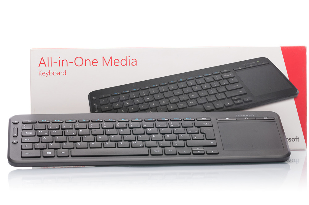 Klawiatura Microsoft All-in-One Media (Niemiecka) N9Z-00008