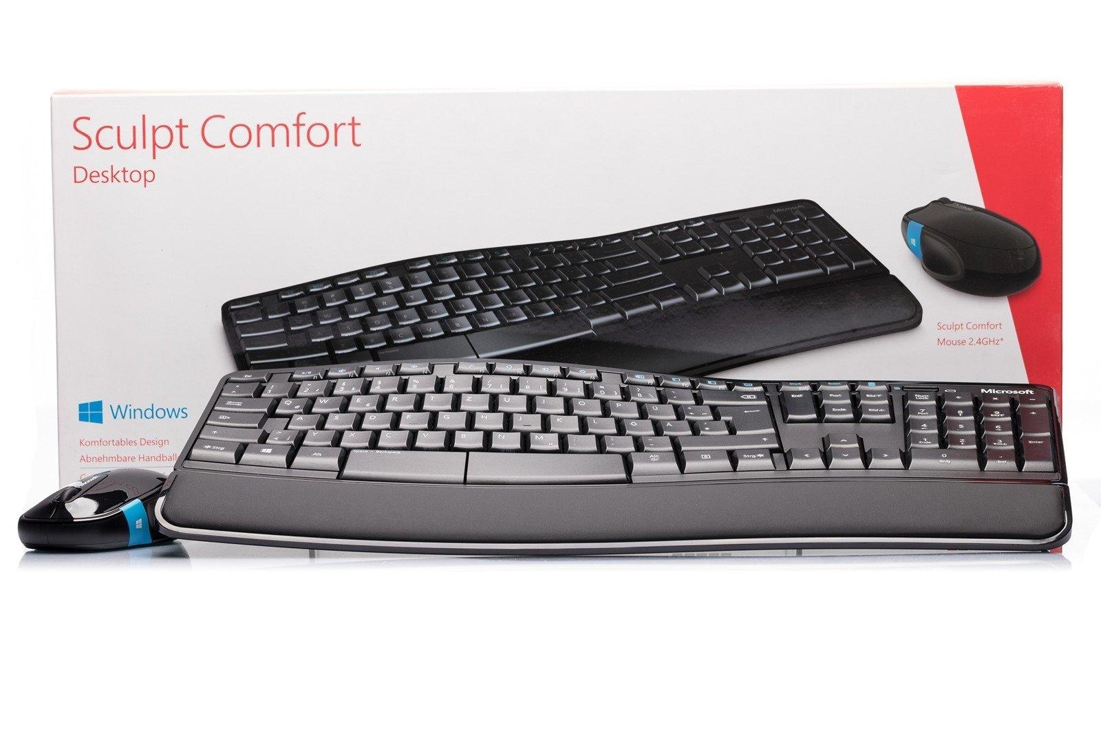 Klawiatura Microsoft Sculpt Comfort Desktop (Niemiecka)