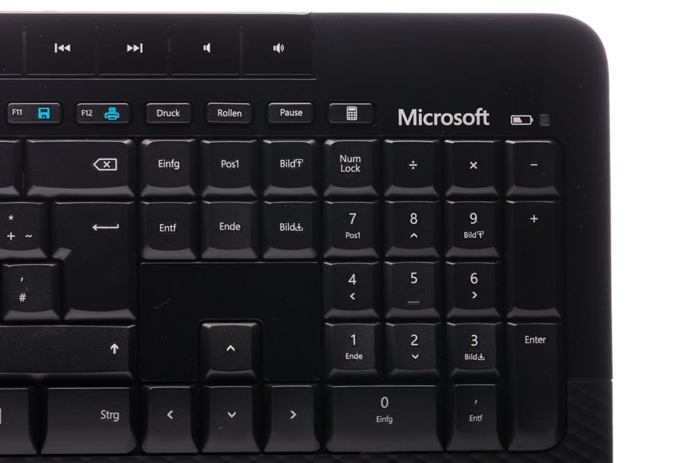 Klawiatura Microsoft Wireless 2000 Desktop (Niemiecka)