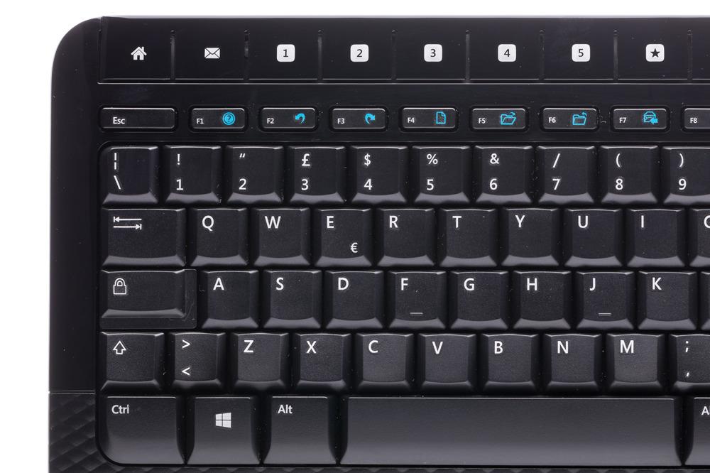 Zestaw Microsoft Wireless 2000 Desktop (Włoska) M7J-00009