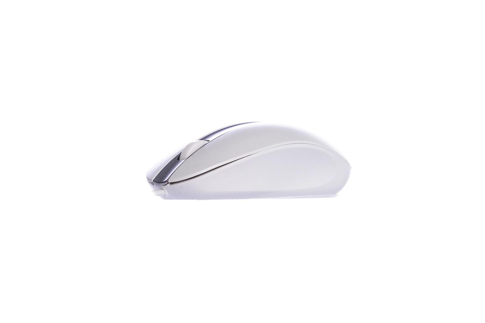 Mysz optyczna Lenovo Biała LXH-EMS-10ZA