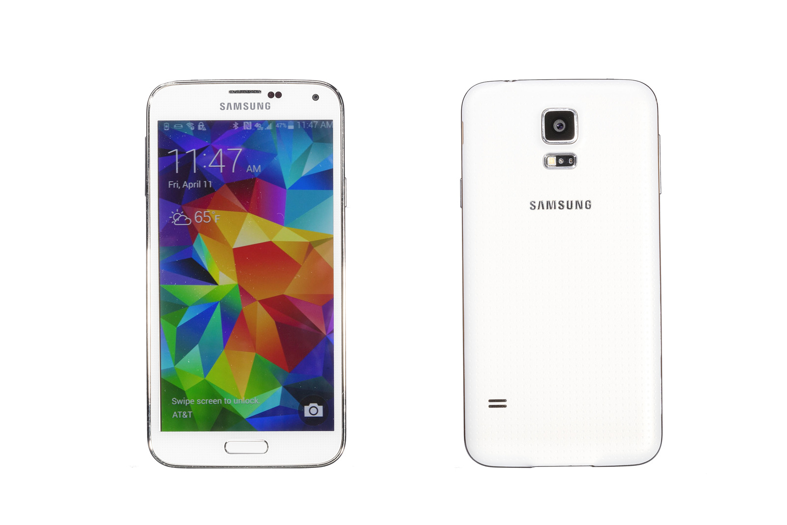 Samsung Galaxy S5 16GB White SM-G900F Pudełko zastępcze Grade C