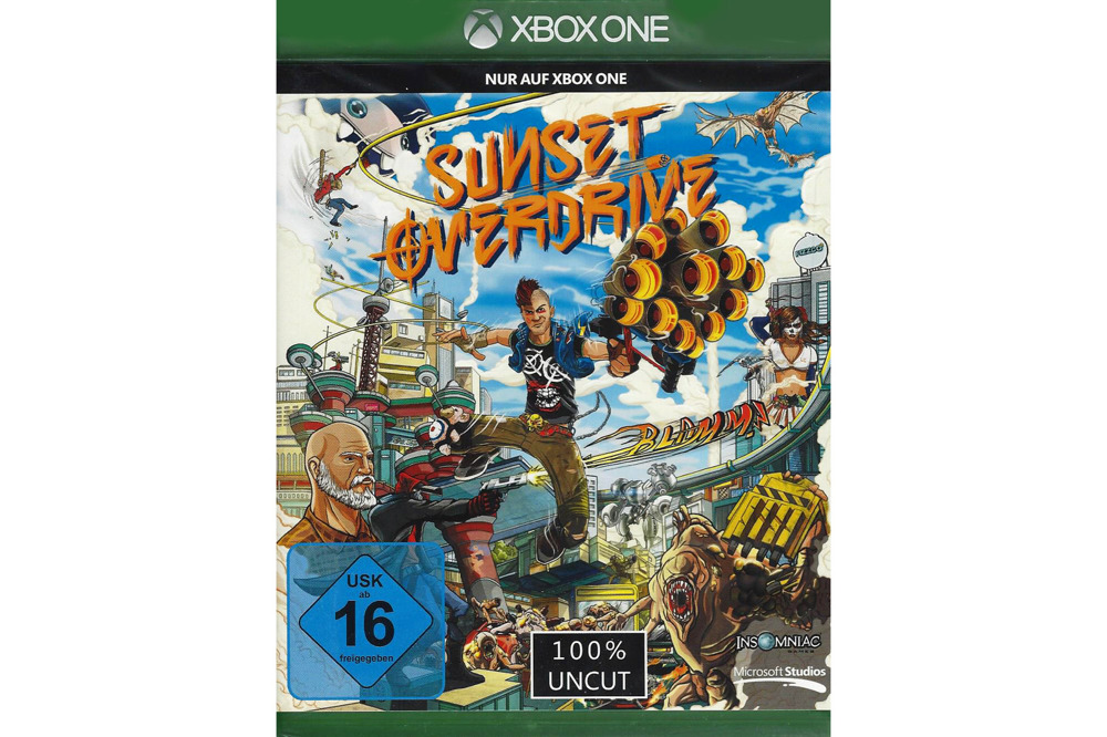 Sunset Overdrive Xbox One w folii